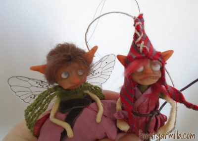 Elf and fairy friends
