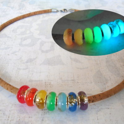 RainbowCorkNecklace
