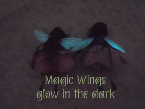 glowing wings