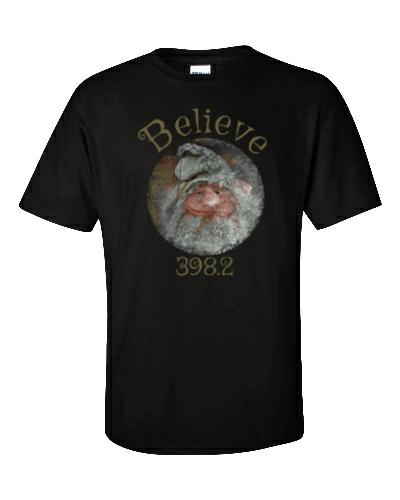 Believe Gnome Black