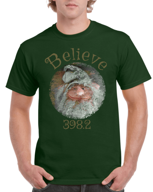 Believe Gnome Green