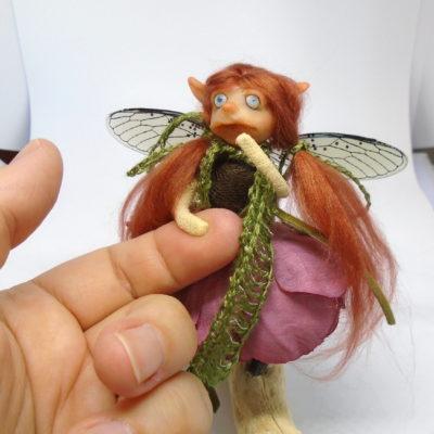 Flower Fairy Redhead