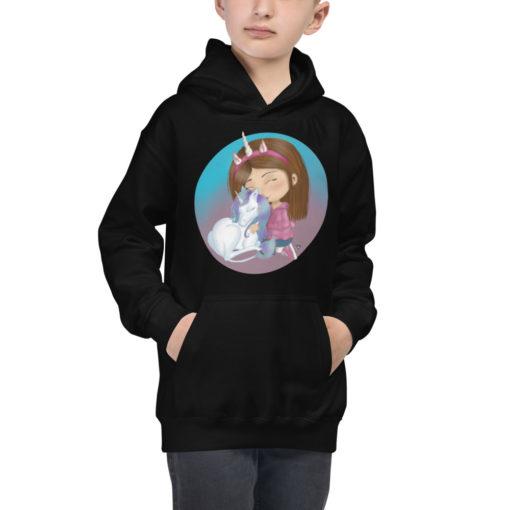 Unicorn Girl Hoodie